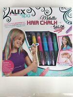 Metallic Hair Chalk Salon Washable Assorted Children's Arts & Crafts Alex 738WM
