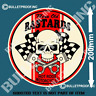 MEAN OLD BASTARDS Decal Sticker Vintage Retro Rat Rod Hot Rod Man Cave Stickers