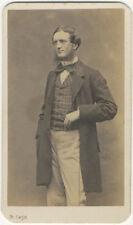 Photo Etienne Carjat Cdv Albuminé Homme Vers 1860