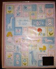 1970s Hallmark Baby Girl Patchwork All About Baby Book Album Memory Keepsake New