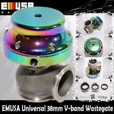 EMUSA 38mm wastegate V Band CHAMELEON DSM EVO VR6 For S13S14 350z Honda Accord