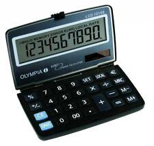 OLYMPIA LCD-1010E Taschenrechner Solar Rechner Schule Bürorechner Rechenmaschine