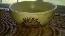 "Design by MARA Mexico Stoneware Bowl 9"" 72 oz Serving Bowl-Desert/Sun Design"