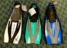 NEW Aqua Lung HotShot Fins: Multi Colors and Sizes Available