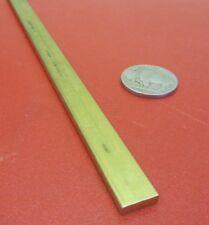 """360 Brass Flat Bar 1/8"""" Thick x 3/8"""" Wide x 36.0"""" Length, 1 Pcs"""