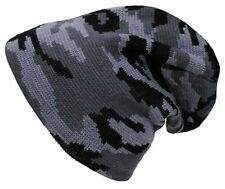 URBAN CAMO NEW BEANIE HAT KNITTED COLD WEATHER WINTER CAP ARMY MILITARY