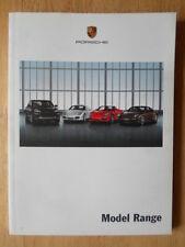 PORSCHE RANGE 2008-09 UK Mkt brochure - 911 GT2 Cayman Boxster S Cayenne Turbo
