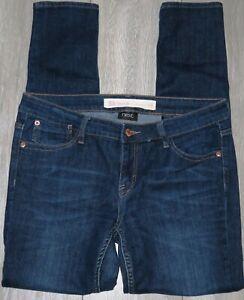 Womens🦋NEXT🦋dark blue stretch skinny denim jeans size 12R