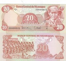 NICARAGUA,20 CORDOBAS,1979,P-135,UNCIRCULATED (B)