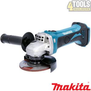 Makita DGA452Z 18V LXT Li-ion Cordless Angle Grinder 115mm Body Only
