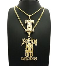 NEW DEATHROW RECORDS CHAIN SET..