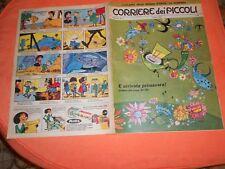 CORRIERE DEI  PICCOLI     NR 11  1962   con   INSERTO REGIONI  LA  CAMPANIA