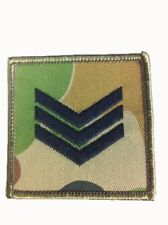 Chevron - Auscam - Sergeant - Pair - Army & Military Patches