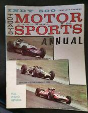 1963 Motor Sports annual magazine