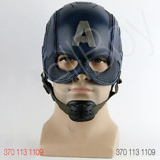 HELMET ELMO CASCO CAPTAIN AMERICA SOLDIER INDOSSABILE SCALA 1:1
