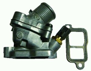 Volvo S60 2000-2010 Thermostat & Housing Engine Cooling Coolant Replace Part
