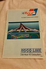 Roco Katalog Prospekt Roco Line  Das neue HO Schienensystem , neuwertig