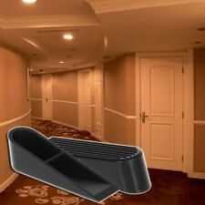 1Pc Rubber Wedge Shaped Door Stops Non-Slip Buffers Safety Stopper Office Home