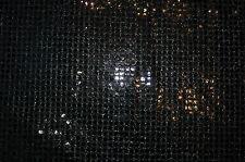 Paillettenstoff (€14/m²) 0,5m Elastik+Lurex Karneval Fasching 1,15m breit