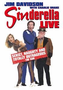 Sinderella Dvd Jim Davidson Brand New & Factory Sealed (1995)