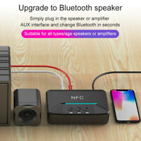 BT200 NFC Bluetooth5.0 Audio Receiver 3.5mm AUX RCA USB Disk Wireless Adapter