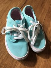 Vans Childrens Size 11.5 Blue