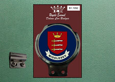 Royale Classic Car Badge & Bar Clip COUNTY of MIDDLESEX B1.1092