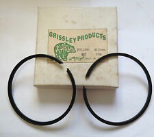 POLARIS 440 67.75MM GRISSLEY STANDARD PISTON RINGS NEW OLD STOCK IN THE BOX