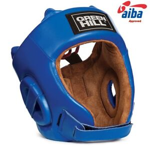 GreenHill kick Boxing Head Guard Protection MMA AIBA Approved