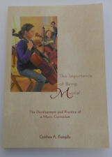 The Importance of Being Musical - Cynthea A. Frongillo ISBN:9781888365177