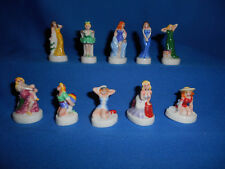 PIN-UP Girls MODELS Cheesecake Set 10 Figurines FRENCH Porcelain FEVES Figures