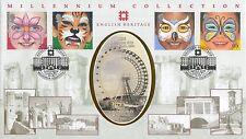 (81423) GB Benham FDC speranze per il futuro FACE PAINTING ENG patrimonio Savile Row 01