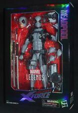 "DEADPOOL UNCANNY X-FORCE Marvel Legends 12"" TRU Exclusive Hasbro New! MIP"