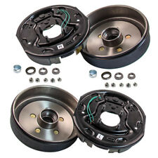 "Trailer 10 x 2 1/4"" Electric Brake Assembly 5 on 4.5 Hub Drum Kit for 3500 lbs"