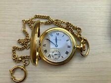 Swiss Uranus Pocket Watch Gold Plated