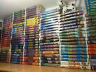 10 Disney VHS Lot Black Diamond /Aladdin/Beauty/Mermaid/Cinderella/101/Star Wars