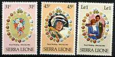 Sierra Leone 1981 SG#668-670 Royal Wedding MNH Set #R392