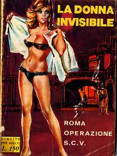 la donna invisibile n.2  fumetti neri satanik diabolik kriminal