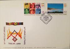 O) 2002 Thailand, Scouts -World Jamboree 2003, Jamboree Site- Landscape -Fdc Xf