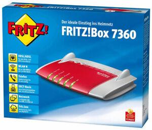 "g  AVM FRITZ!Box 7360  Wlan Router 300 Mbit/s fritzbox  ""2 Jahre Gewährleistung"""