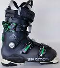 Popular High End $400 Mens Salomon Quest Access R80 Black Green Ski Boots Used