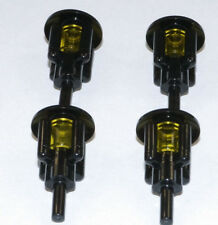 LEGO - 4 x Laterne Lampe schwarz / Schiff Haus Piraten 2566 4740 3062b NEUWARE