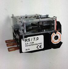 Motorschutzrelais / Motorschütz R5/7,0  für Condor Druckschalter 5/11 oder /16