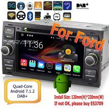 Ford Autoradio Fiesta Focus C S-Max Mondeo Android 7.1 Car DAB+DVD OBD GPS 4731I