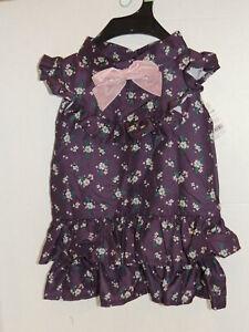 Bond & Co. Purple Floral Dog Dress LG NWT $21.99
