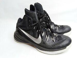 Nike Mens Hyperdunk 2014 TB Black Silver Basketball Shoe Sz 9.5 653483-001