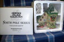 Dept 56 The Glacier Gazette #56394 North Pole Village Retired Nib