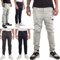 New Mens Gym Jogging Joggers Sports Tracksuit Bottom Sweatpants Trousers S M L