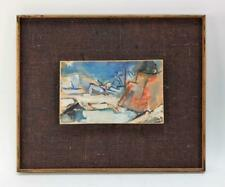 JEAN LOUIS LIBERTE Abstract Painting ART Cubist SIGNED