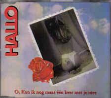 Hallo-O Kon Ik Nog Maar Een Keer Met Je Mee cd maxi single